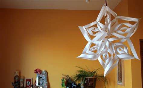 How To Make Pretty Paper Snowflakes - carotte lychee how to one of the most beautiful paper