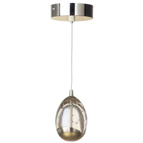 Ceiling Pendant Lights Bulla 1 Light Led Ceiling Pendant Gold From Litecraft