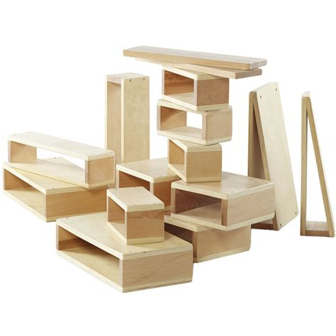 large wooden blocks large building blocks set of 16 in educational toys