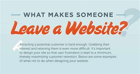 design blunders thatll  people leave  website