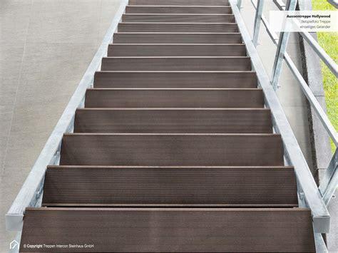 wpc treppenstufen verzinkte aussentreppe stufen aus hochwertigem wpc