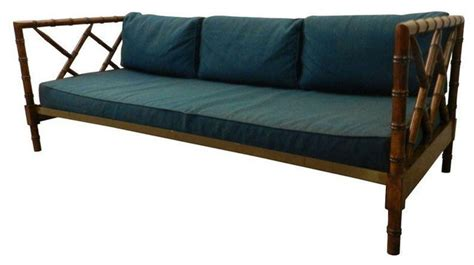 bamboo daybed vintage faux bamboo daybed tropical day beds and