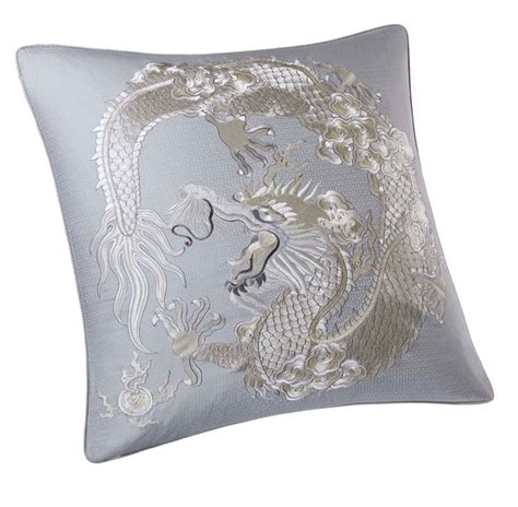 Luxury Luxe Pillows by Luxe Silk Embroidery Pillow Courtesy Of Instyle