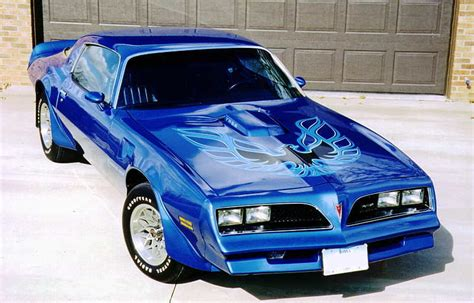 Blue 78 Trans Am by 1978 Pontiac Firebird Trans Am