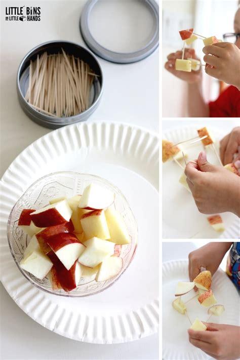 apple stem activities  kids fall engineering ideas