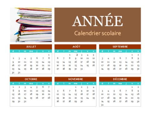 Calendrier 2018 Powerpoint Calendrier Scolaire 2017 2018 Office Templates