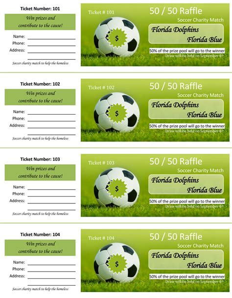 create raffle or event tickets in microsoft word