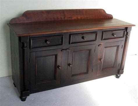 Hand Painted Kitchen Islands farmhouse sideboard buffets