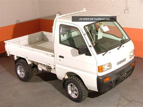 Suzuki 4x4 Vehicles 1997 Suzuki Carry 4x4