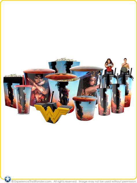 Designer Home Decor Accessories golden link dc comics wonder woman movie logo 22 oz