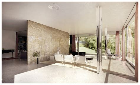 Villa Tugendhat Innen by Tugendhat House Interior By Lasse Rode Xoio 3d