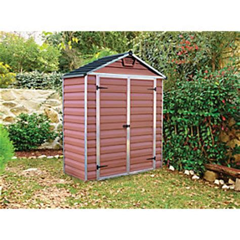 B And Q Plastic Sheds by Plastic Sheds On Sale Deals And Best Prices From B