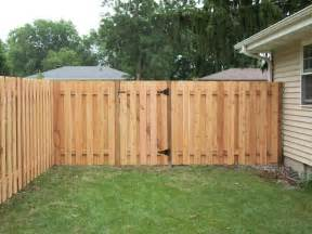 dog eared alternate board privacy fence minneapolis mn northland fence mn