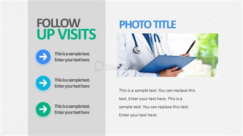 Follow Up Visits Editable Powerpoint Templates Slidemodel Clinical Presentation Template