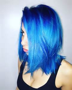 blue hair color 25 best ideas about bright blue hair on