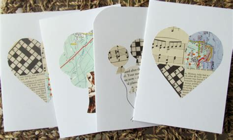Paper Craft Greeting Cards - montrose paper crafts technique upcycled cards
