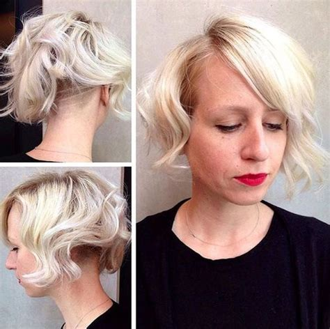 extra sure bob haircut buzzed nape 2015 short hair with bangs 40 seriously stylish looks