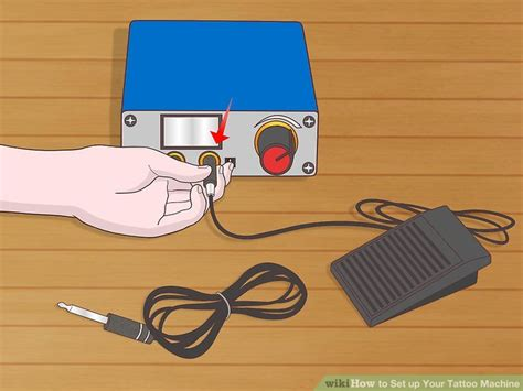 how to start tattooing how to set up your machine with pictures wikihow