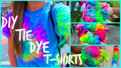 diy tie dye t shirts