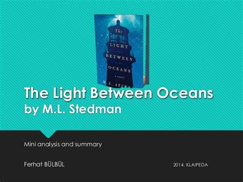 Ml Stedman The Light Between Oceans the light between oceans by m l stedman
