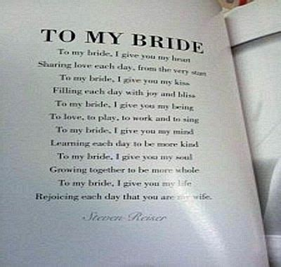 Wedding Box Poem by Wedding Poems For And Groom Inexpensive