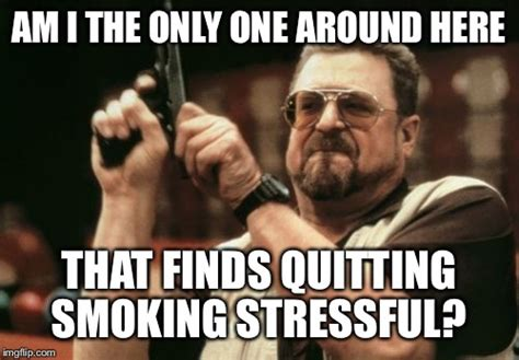 Stop Smoking Meme - am i the only one around here meme imgflip