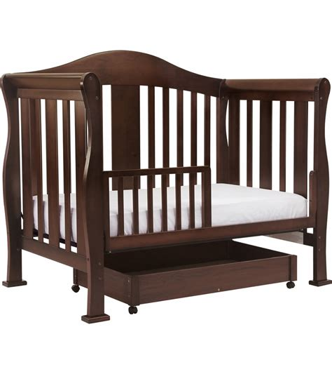 Baby 4 In 1 Convertible Cribs Davinci 4 In 1 Convertible Crib In Coffee