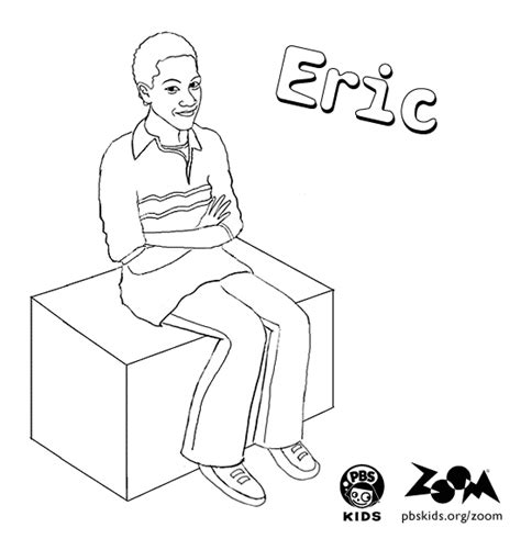 zoom coloring page zoom printables eric s coloring page pbs kids