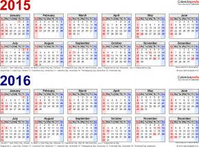 year calendar template 2015 printable tax year calendars 2015 2016 calendar template