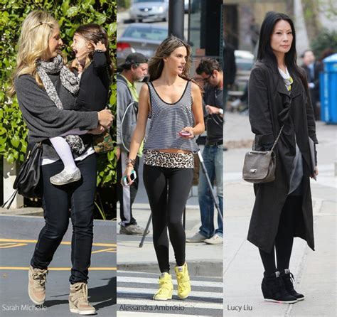 Fashion Wedges Sneakers Kode 1688 ash wedge sneakers comfy in looks and feel makhsoom