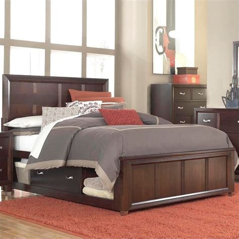 broyhill beds broyhill eastlake 2 panel single underbed storage bed in