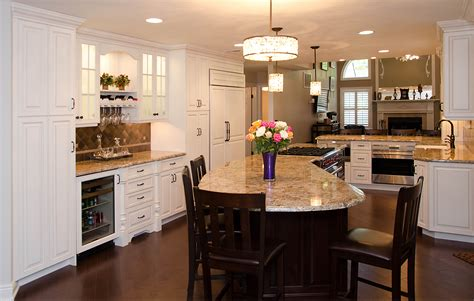 Center Island Designs For Kitchens Creative Kitchen Design Manasquan New Jersey By Design Line Kitchens