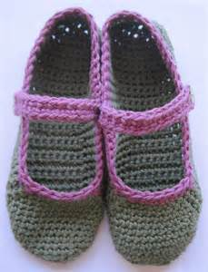crocheted pattern slipper free patterns