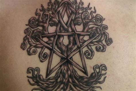 pentacle tattoo designs wiccan pentacle www imgkid the image kid