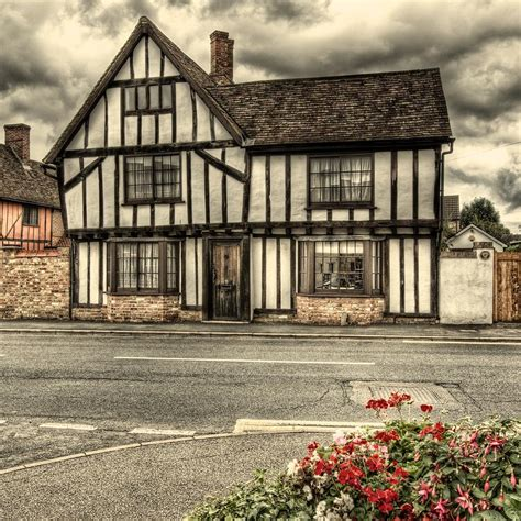 English Tudor Home English Tudor House Photograph By Martin Bryers