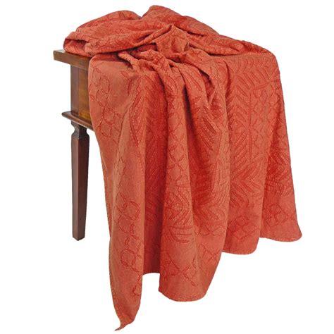 Decke 95 Grad Waschen by Gro 223 E Decke Cutwork Rot