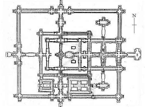 angkor wat floor plan beng mealea temple plan
