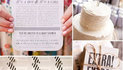 baby shower ideas buzzfeed a vintage newsprint shower buzzfeed s 25 of the best