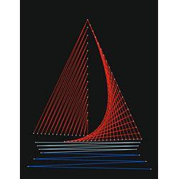 String Boat - string boats and string templates on