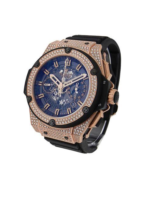 Hublot Big Blue Rosegold Rubber 1 701 ox 0180 rx 1704 hublot king power big unico essential watches
