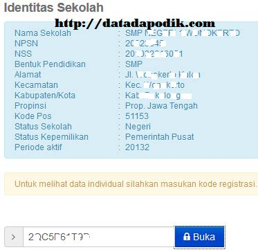 data dapodik info pendataan user id dan password tidak valid login info ptk data