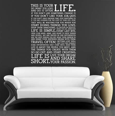 bedroom wall decals quotes 50 beautiful designs of wall stickers wall art decals