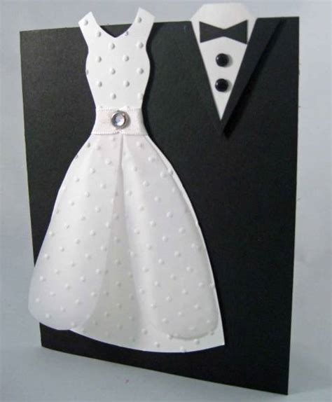 paper tuxedo wedding card template and groom by betty82402 at splitcoaststers