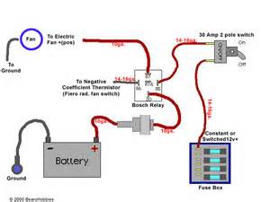 fan wiring diagram relay