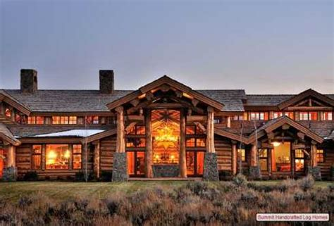 big cabin standout log homes plans a majestic mountain home