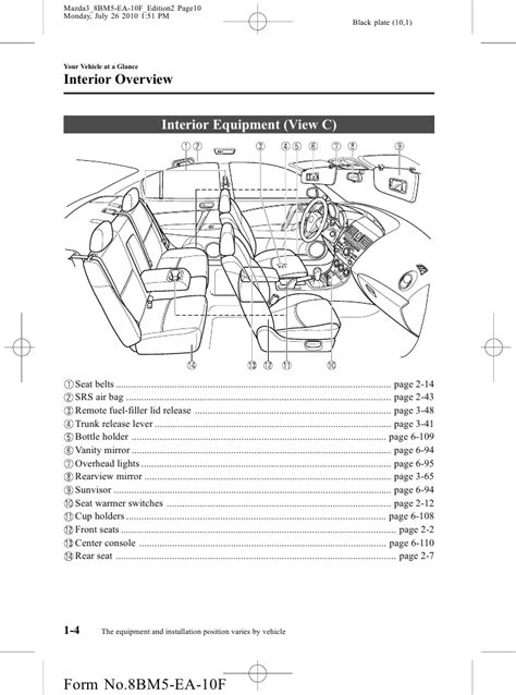 mazda3 mazdaspeed3 wiring diagram book k