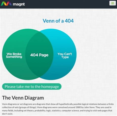 best 404 page how to create a spectacular 404 error page with 12 exles