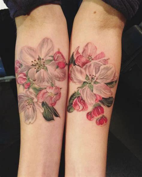 apple blossom tattoo best 25 apple blossom tattoos ideas on