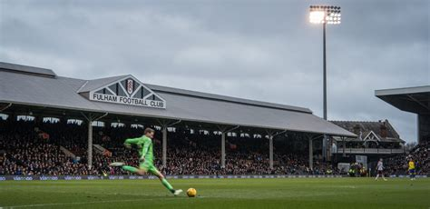 craven cottage fotoreportage craven cottage fulham fc staantribune