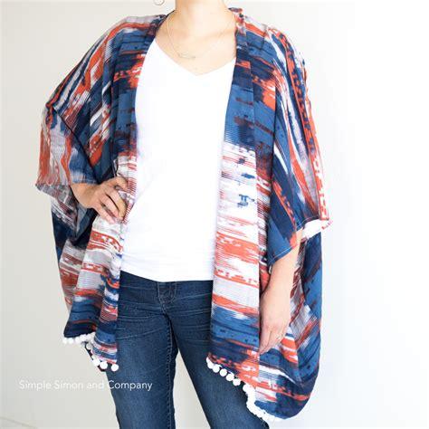 kimono jacket pattern diy diy kimono cardigan simple simon and company